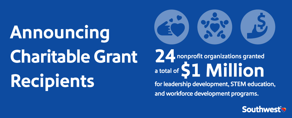 Charitable Grant Recipients Announcement