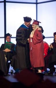 Ashley Toppin graduating