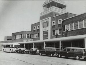 Byrd Field, circa 1960*