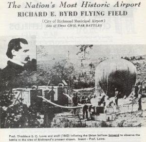Civil War era observation balloon*