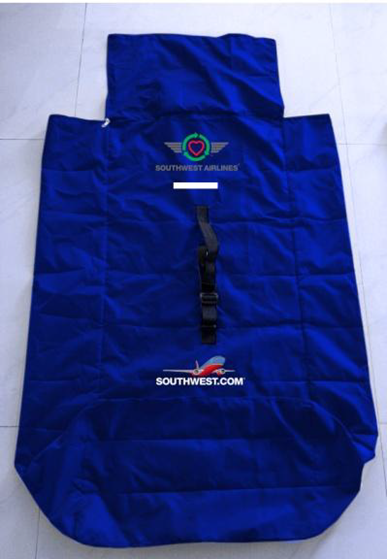 going green reusable car seat stroller bag the southwest airlines community. Black Bedroom Furniture Sets. Home Design Ideas