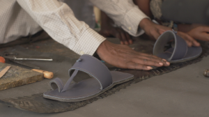 Leather from the Evolve redesign will be made into shoes and donated to the Nairobi community.
