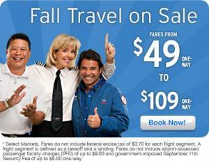 Nancy in a Fall Travel Ad