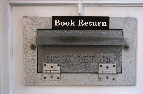 Book Return Chute