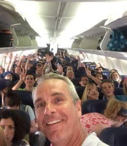 Disney Seniors Plane