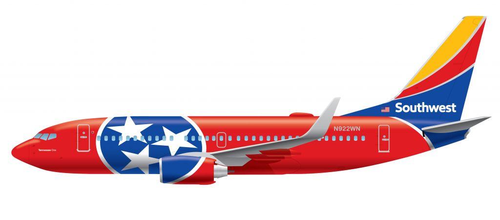 TN1 737 Vector Art HERO