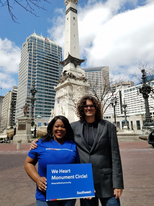 Indianapolis, IN – City Market & Monument Circle Angela Shockley, IND Customer Service Supervisor and Jim Walker, Big Car Collaborative