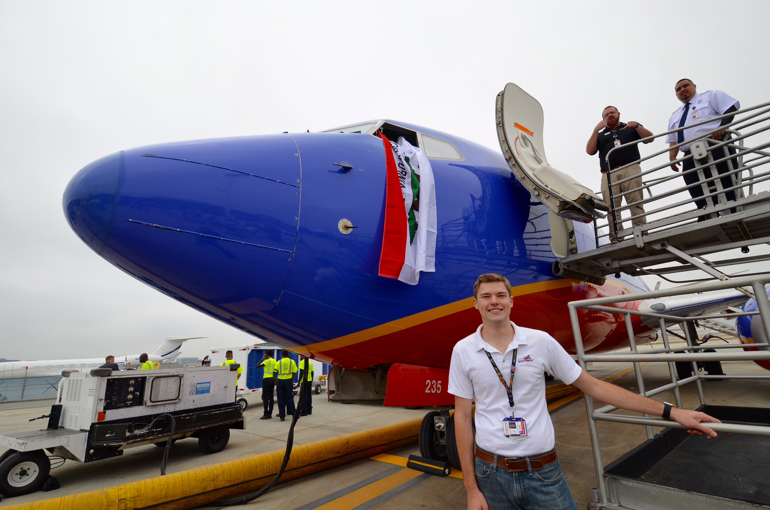 On June 5 2016 Southwest Airlines Began Serving Long Beach Airport Lgb In Calf As An Avgeek I Could Not Be More Excited To Help Bring