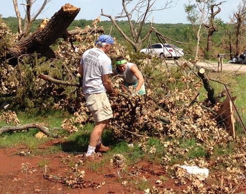 Tornado Clean up in Moore, OK