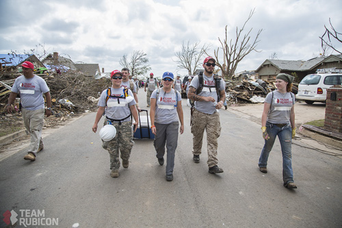 Team Rubicon in Moore OK