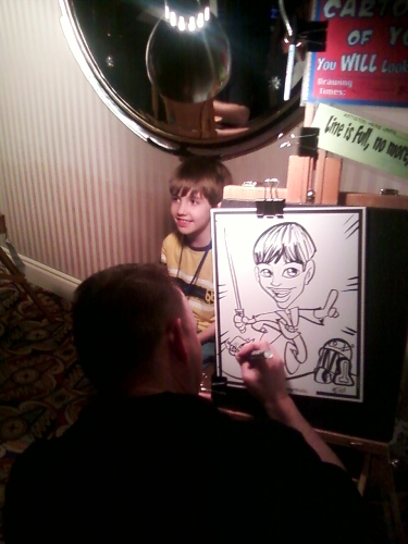 Herman's Caricature