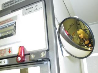 Flight Attendant Mirror