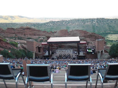 Red Rocks Seats