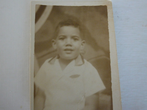Jose as a boy