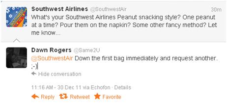 Peanut Tweet