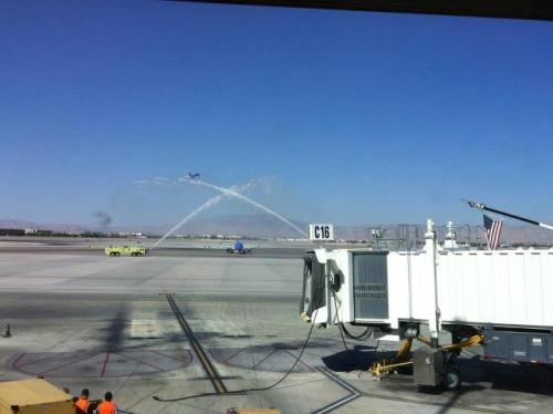 Water Cannon in Vegas