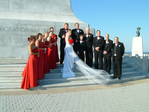 Holy Matrimony at Kitty Hawk