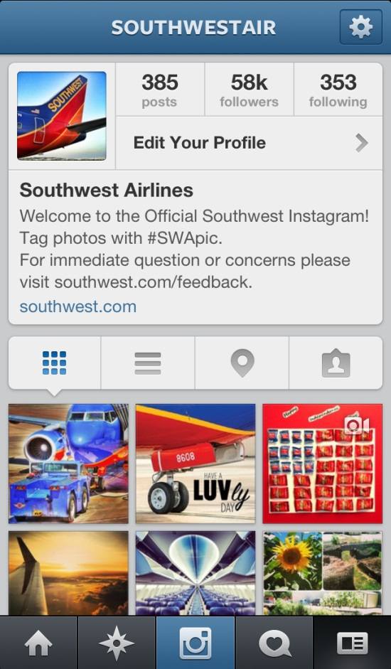 Southwest Airlines on Instagram