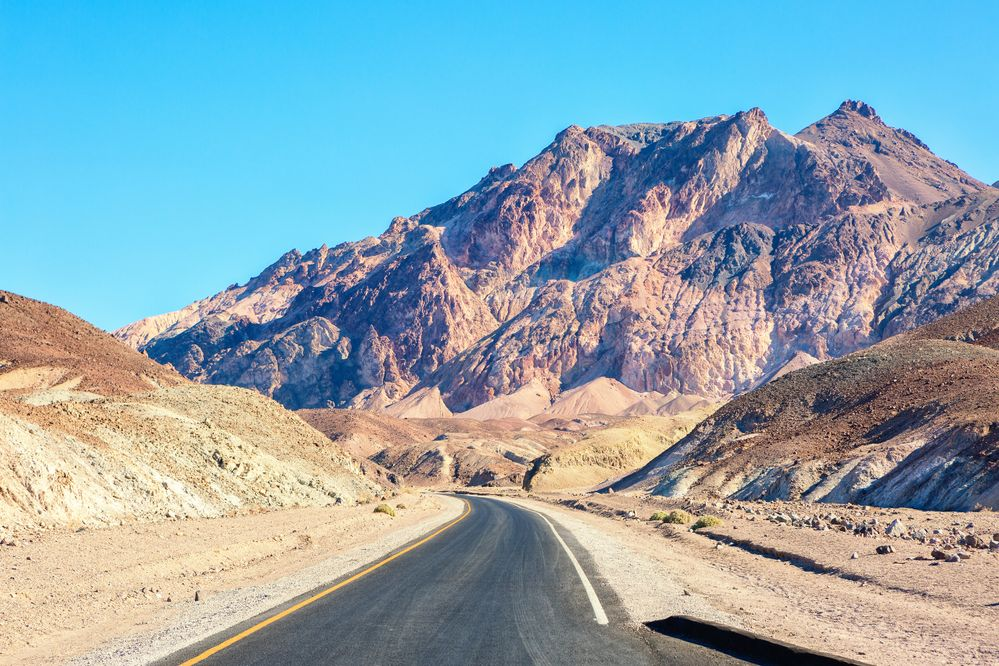 Artists Drive, Death Valley National Park