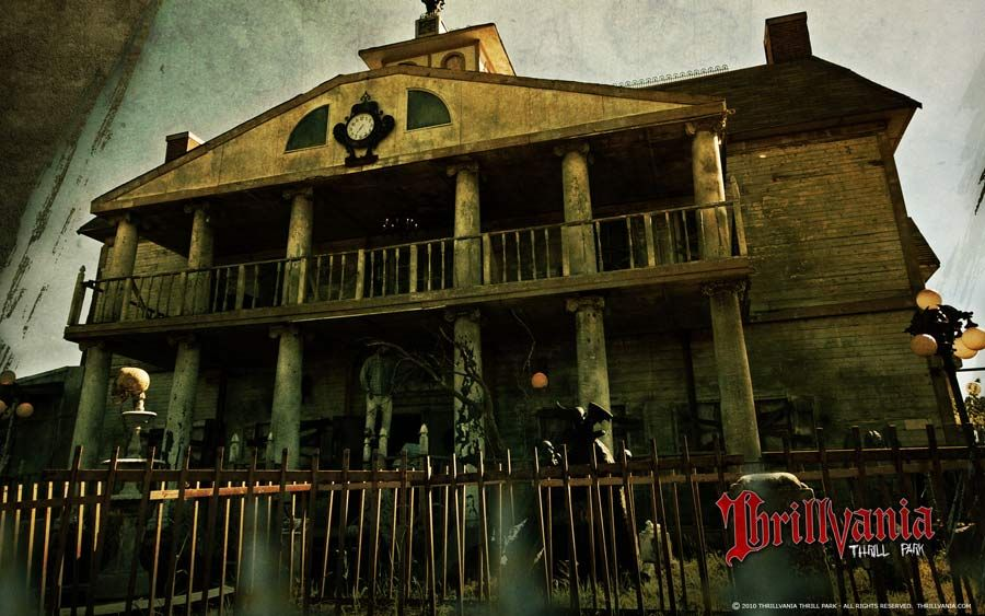 Thrillvania Haunted House Park.