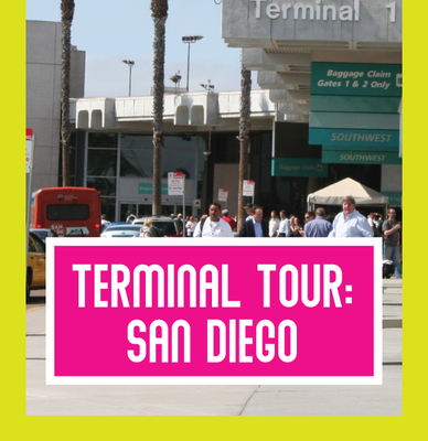 Southwest Airlines Terminal Tour: San Diego International Airport Terminal 1