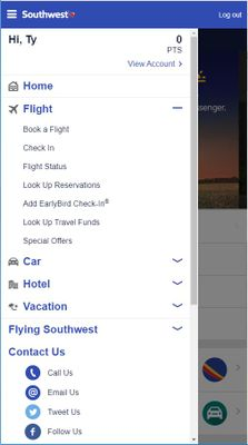 Accessing Southwest Airlines Travel Funds