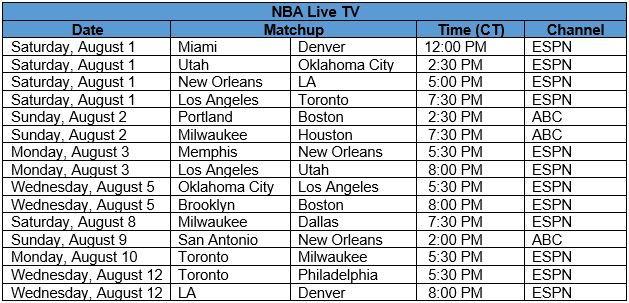 NBA Live TV Schedule.JPG