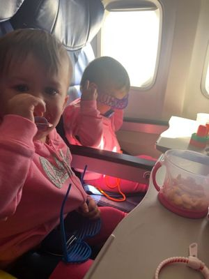 Ella and Eve_First Southwest Airlines Flight.jpg