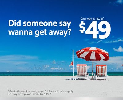 Wanna Get Away? Southwest can Help!