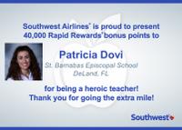 Southwest Airlines Rewards Heroic Teachers_Patricia Dovi_DeLand, FL.png