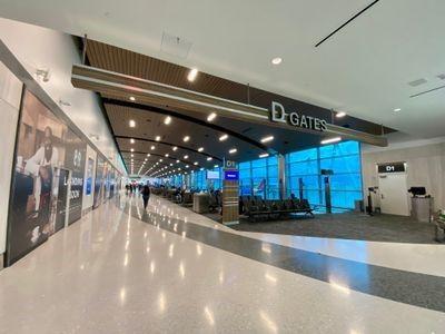 Concourse D Entrance