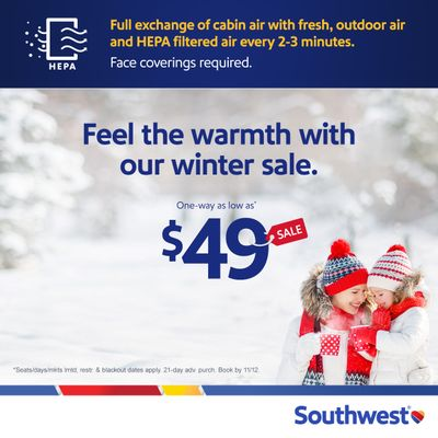 Cool Fares, Warm Places!