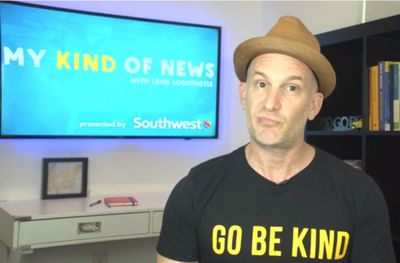 "Watch ""My Kind of News,"" Featuring The Kindness Guy"