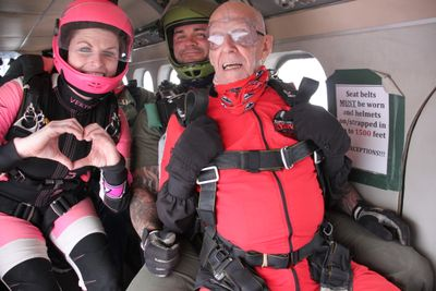 Steph and Charlie Getting Ready to Skydive.jpg