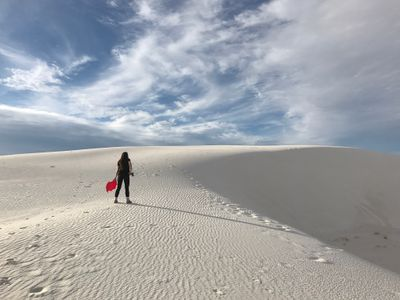 Photo from a weekend trip to White Sands Nation Monument in New Mexico.