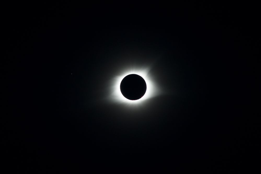 The 2017  total solar eclipse; Nashville, TN.  Photo by: Stephen Keller