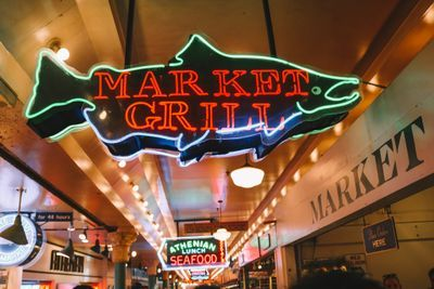 Market Grill inside Pike's Place Market