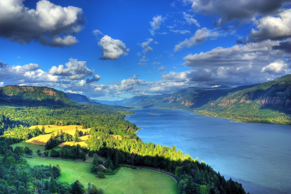 Columbia River Gorge, located just east of Portland