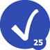 25th Accepted Solution Badge