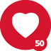 50th Love Given Badge