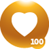 100th Love Given Badge
