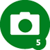 5th Photo Uploaded Badge
