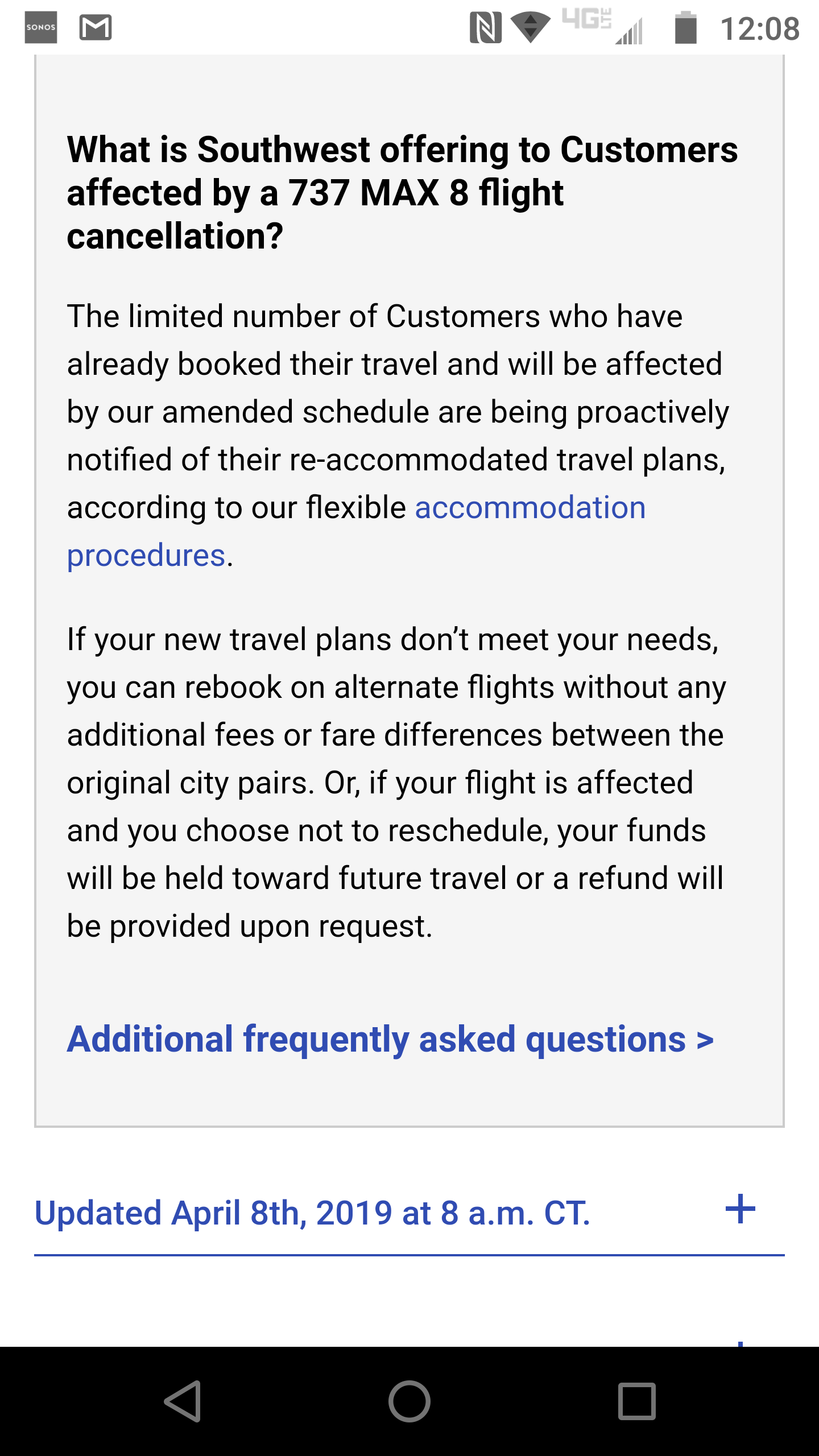 Solved: Southwest rescheduled - can't get actual refund