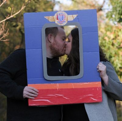 The influence of Southwest was quite prominent in our engagement photos. (Photo by Cobi Grace Photography)