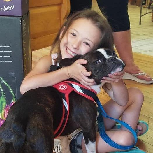 Selah Grace with Dog .jpg