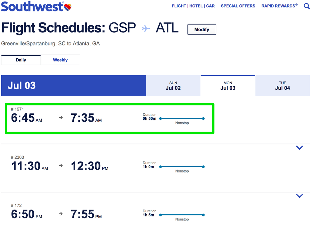 Merging Connecting Flights The Southwest Airlines Community