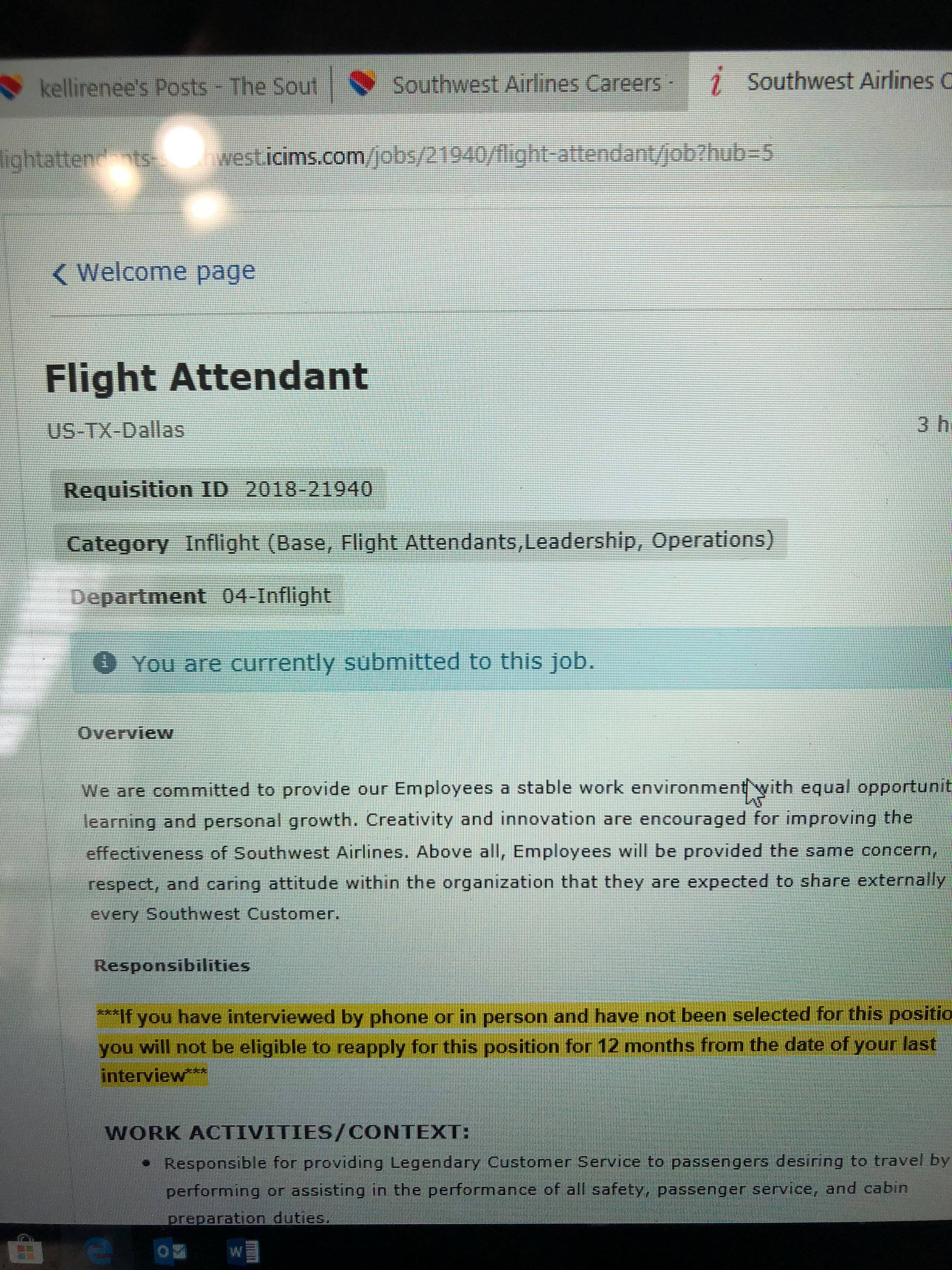 cover letter for airline job cover letter