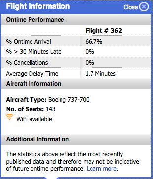 Seating Chart The Southwest Airlines Community