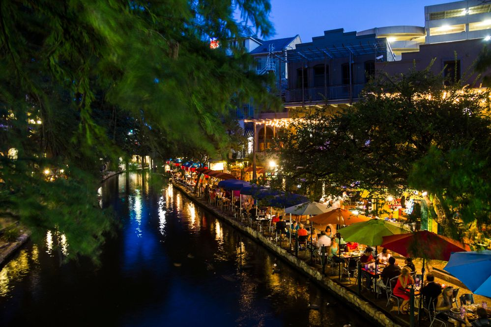 The San Antonio River Walk is a great place to walk, explore, and share a margarita with friends.