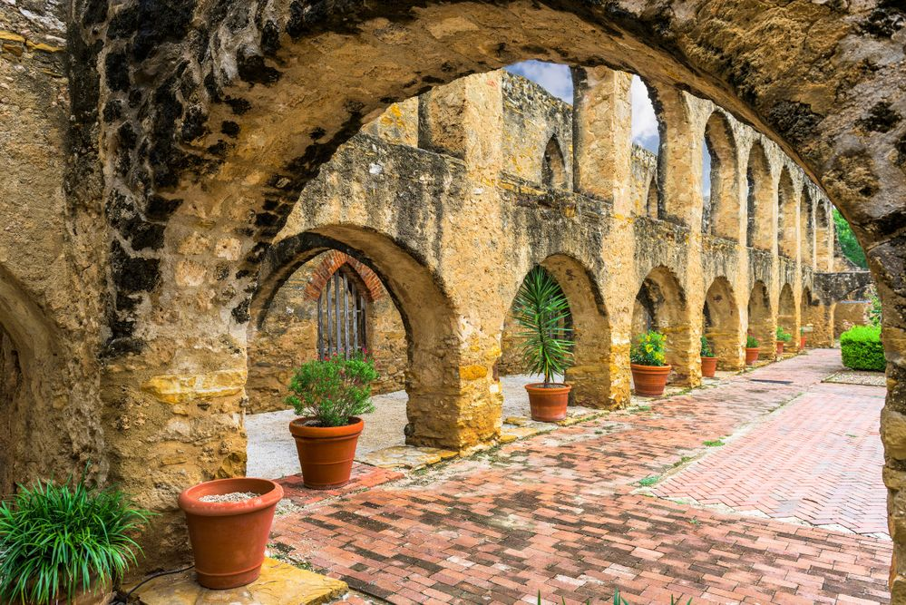 Get active by exploring the historic missions of San Antonio on a bike.